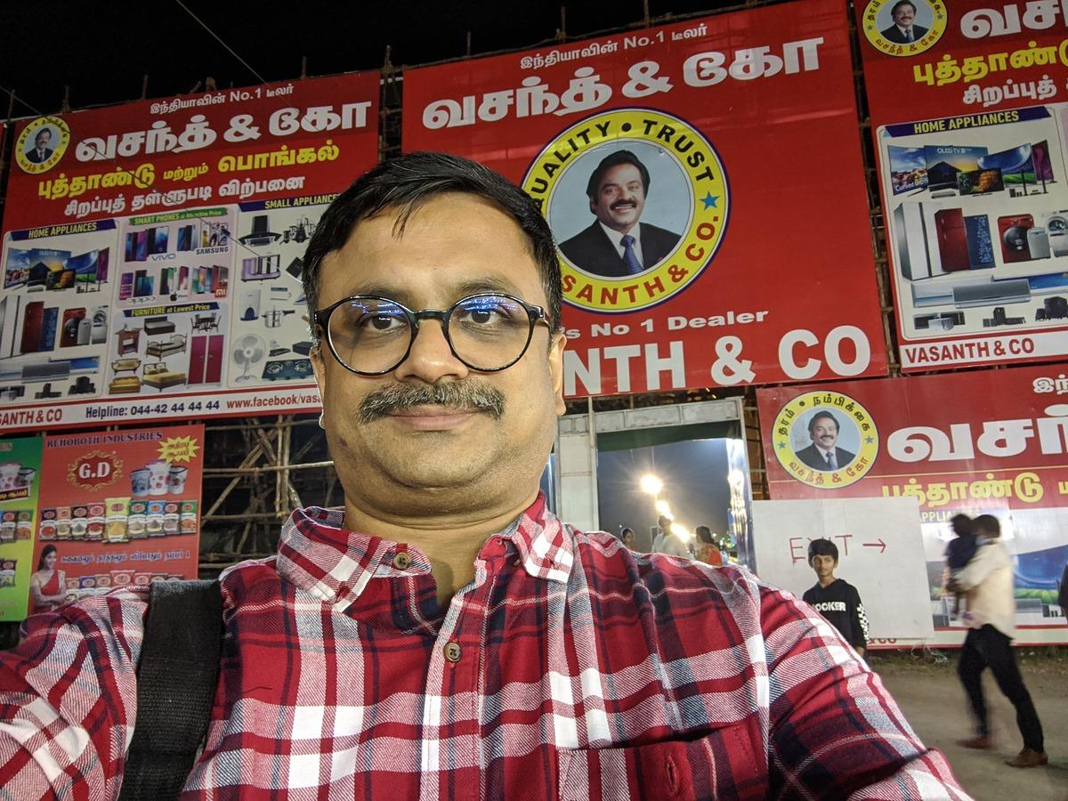 Venkatarangan at the 46th year of annual Chennai Trade Fair