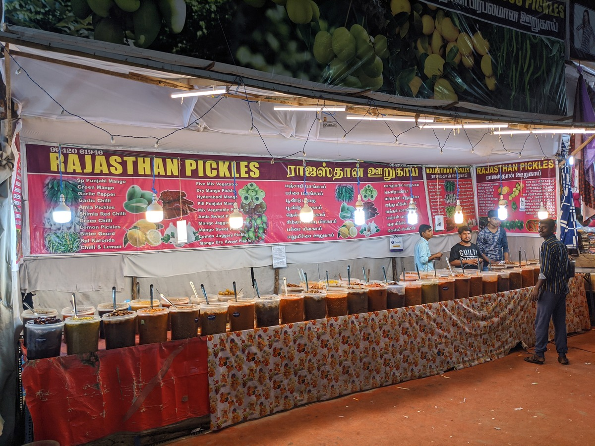Rajasthan Pickles - are you hot enough to try them?