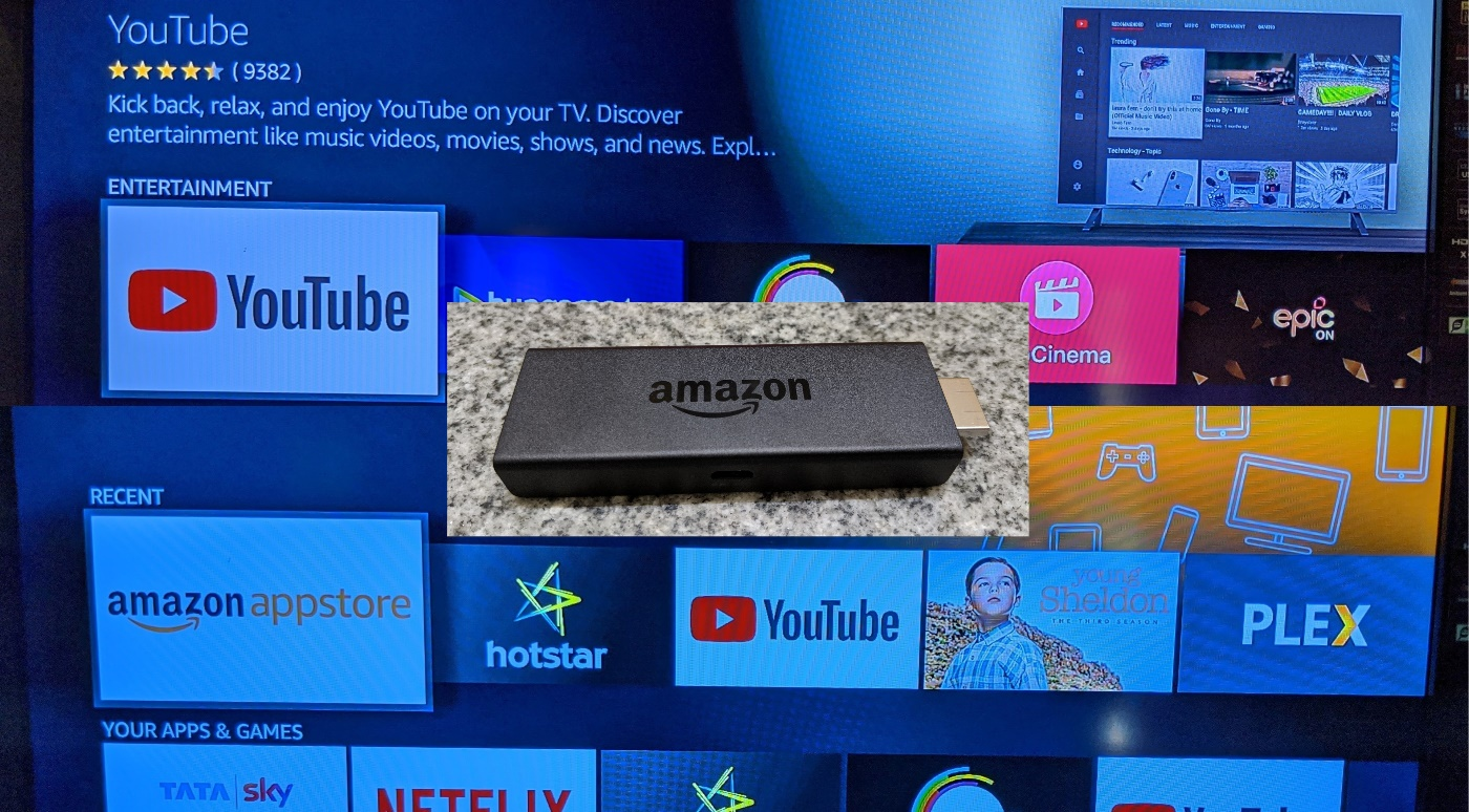 Amazon Firestick-Android TV
