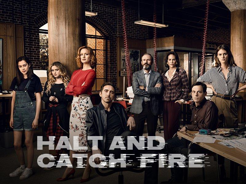 AMC's Halt and Catch Fire (2014-17) TV Series