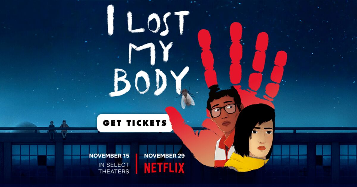 I Lost My Body (French: J'ai perdu mon corps)