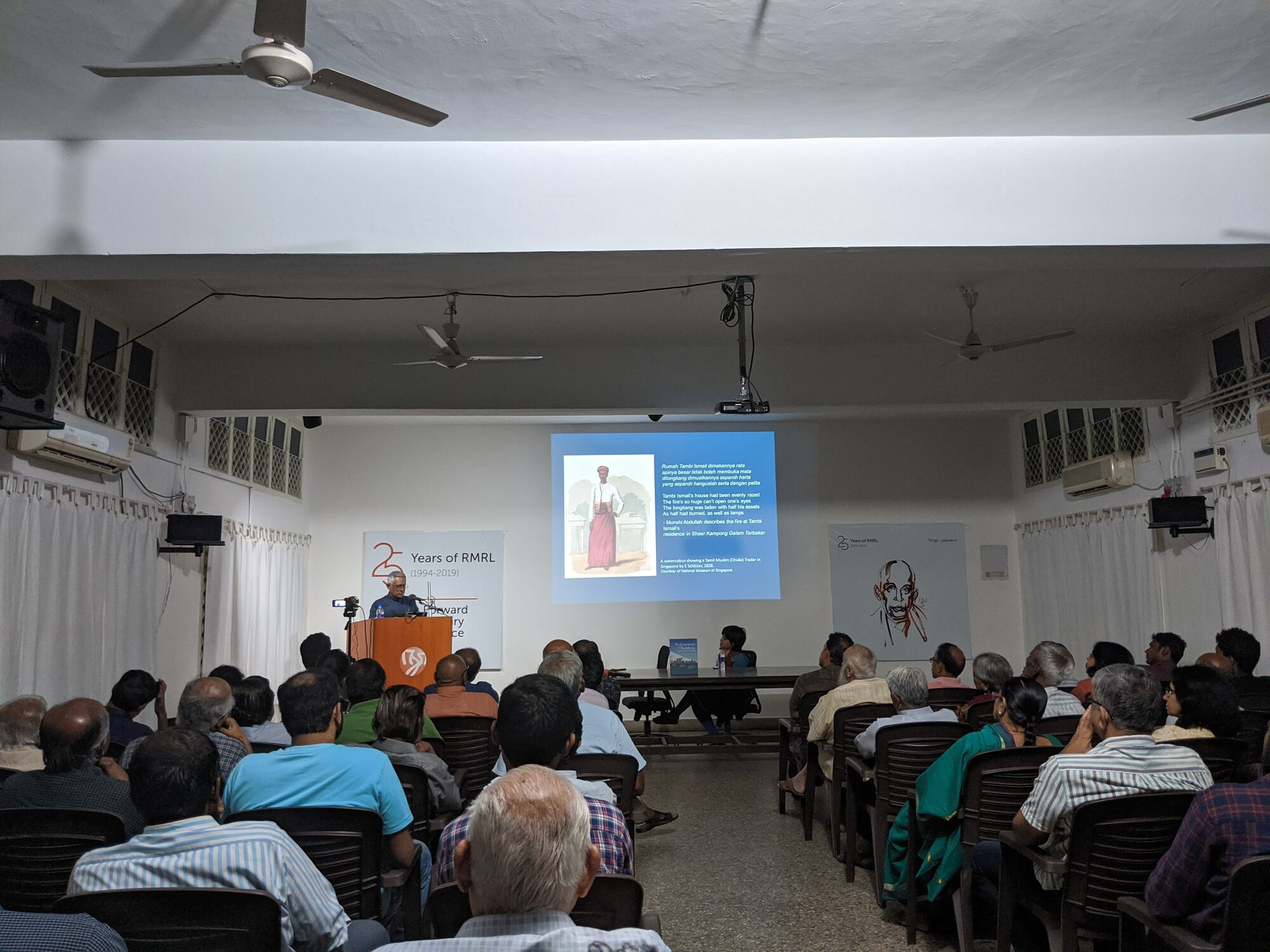 "Book ""Sojourners to Settlers"" introduction at Roja Muthaiah Library, Chennai"