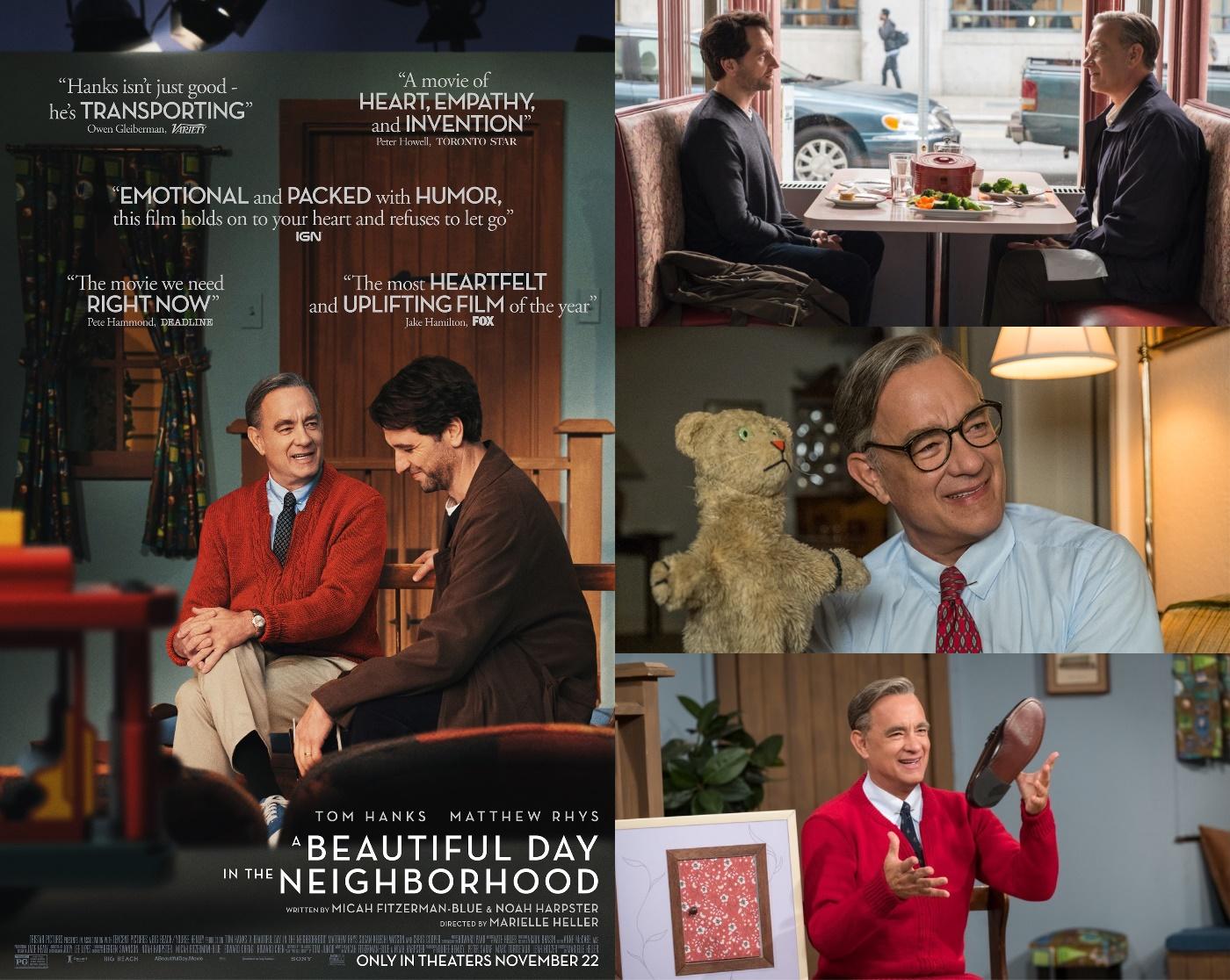 Tom Hanks & Matthew Rhys, In a Beautiful Day in the Neighborhood