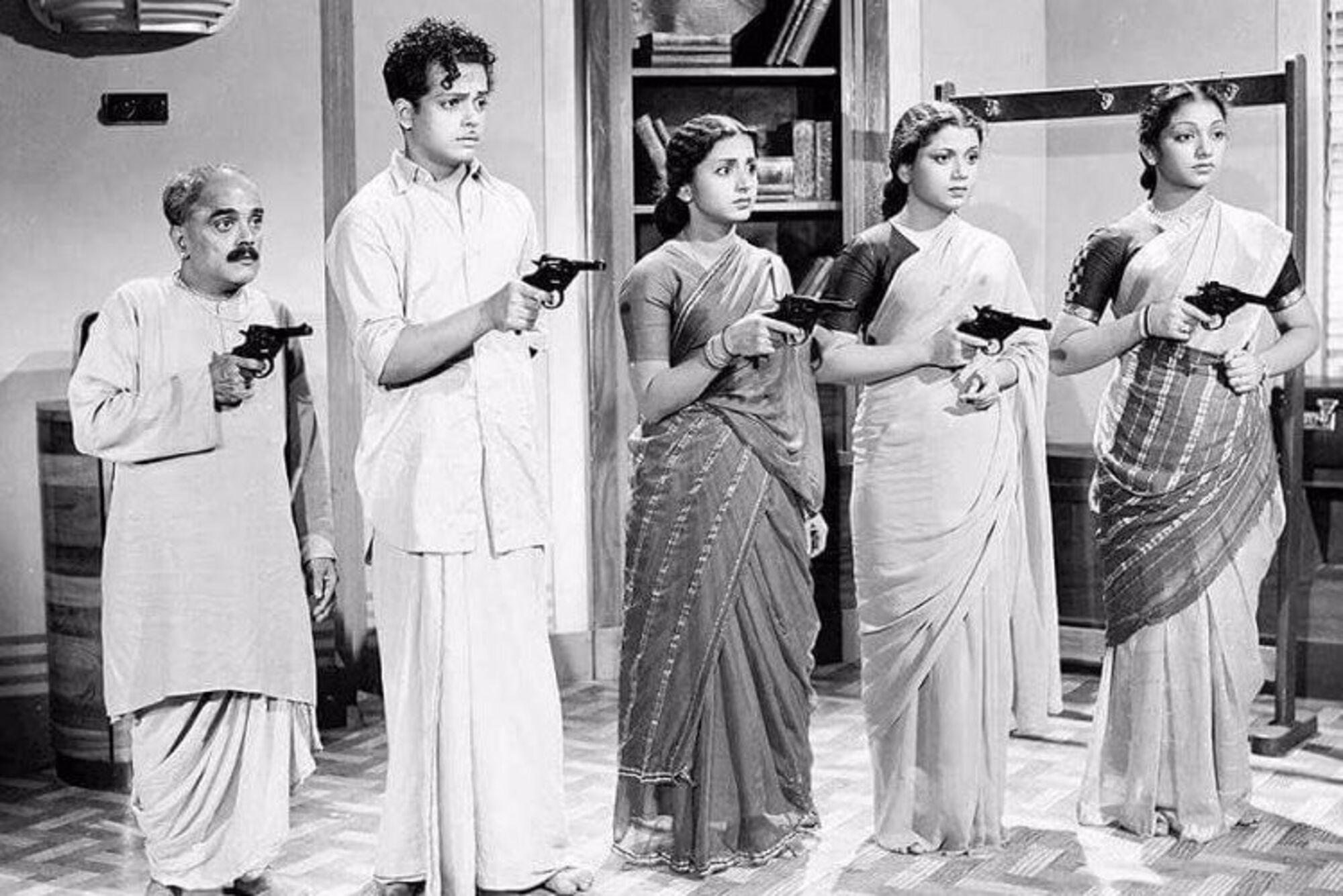 Andha Naal (1954) - Directed by S. Balachander. Sivaji Ganesan, Pandari Bai, Javar Seetharaman & others