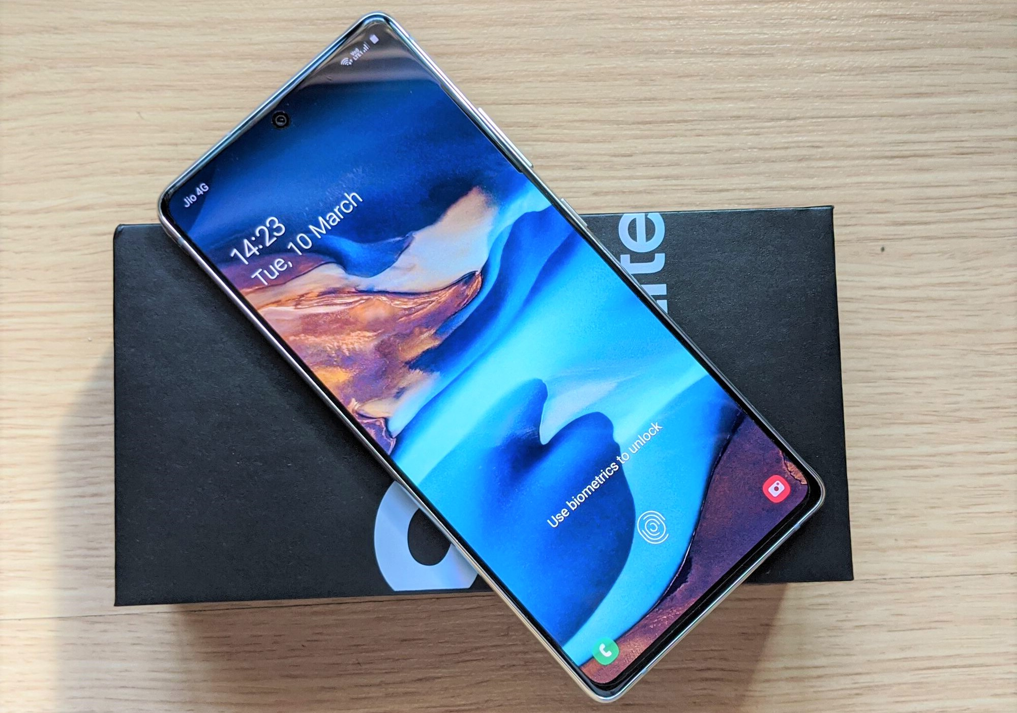 Samsung Galaxy S10 Lite that I purchased for Rs.31,849 (USD 427)