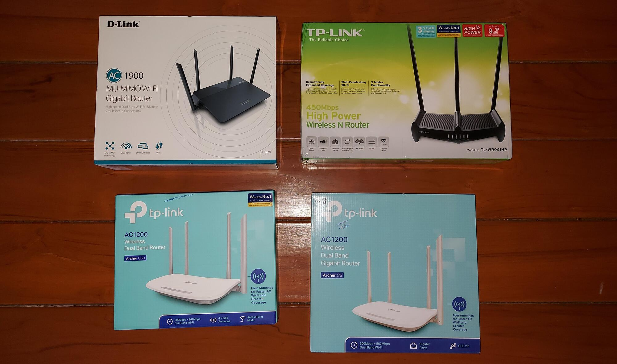 Wi-Fi Router Boxes