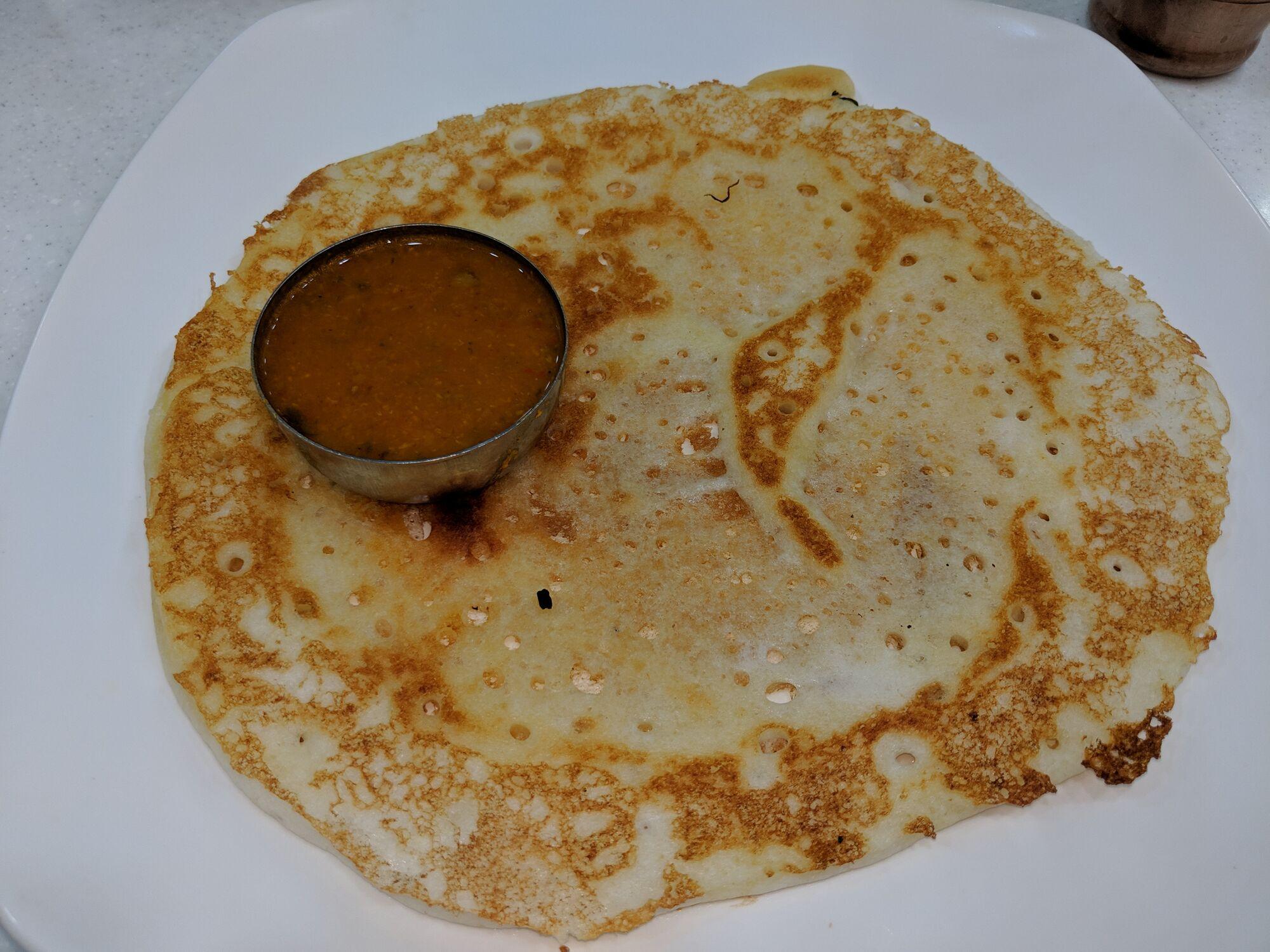 Dosai - சாதா தோசை மற்றும் சாம்பார்