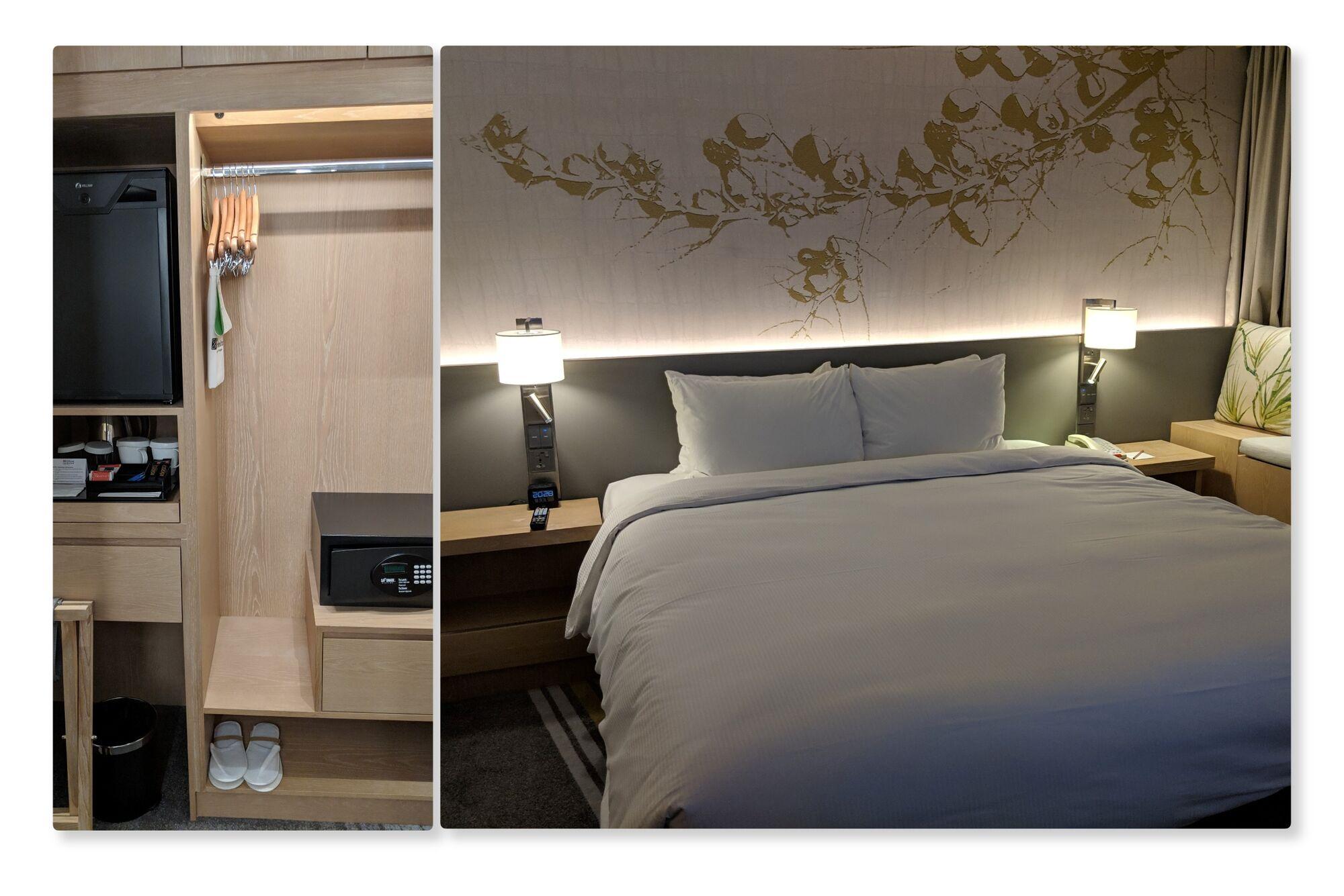 More view of King Deluxe Room, Hilton Garden Inn, Singapore