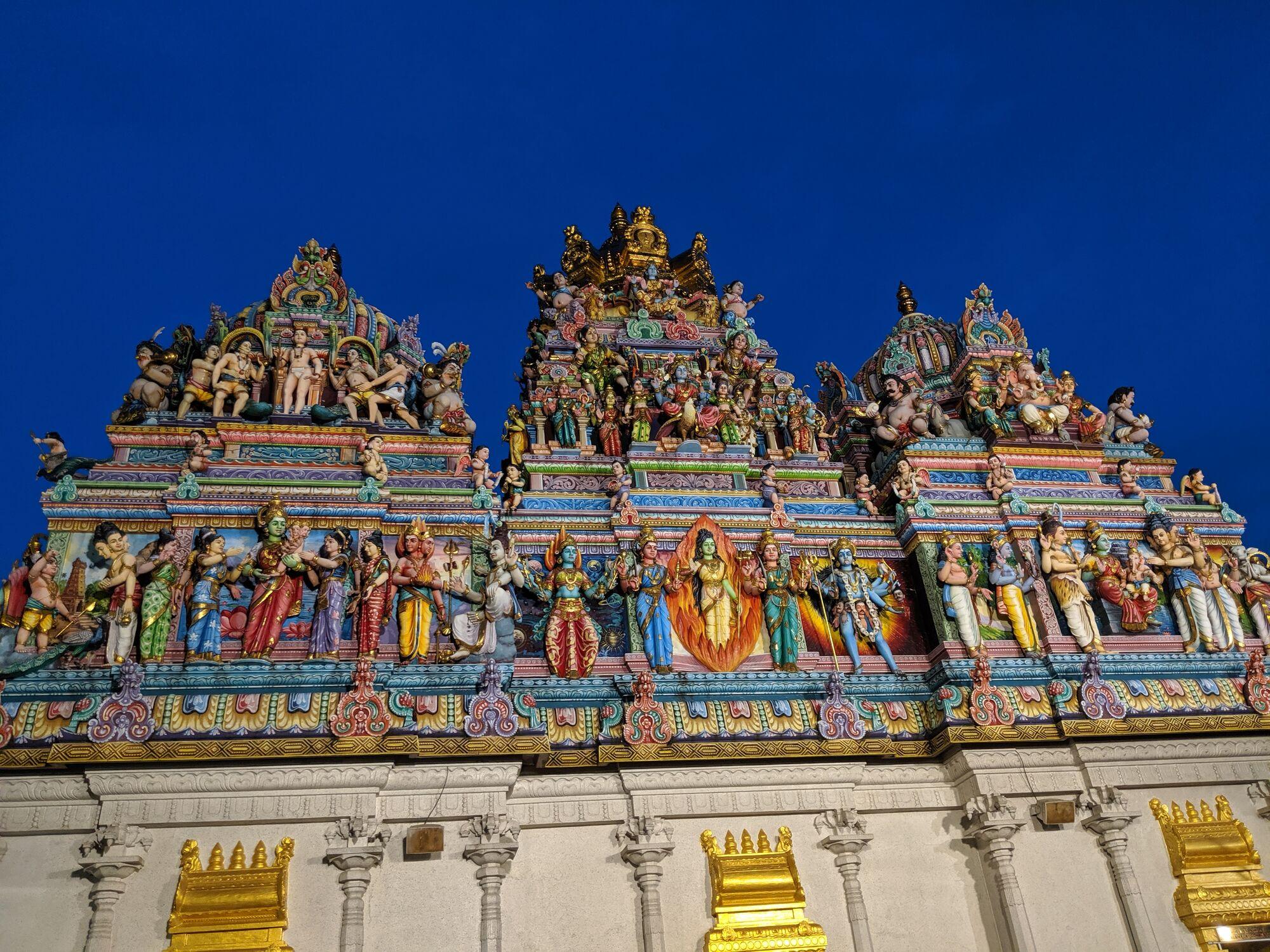 கோயில் கோபுரங்கள் - ஸ்ரீ வீரமாகாளியம்மன் கோயில்