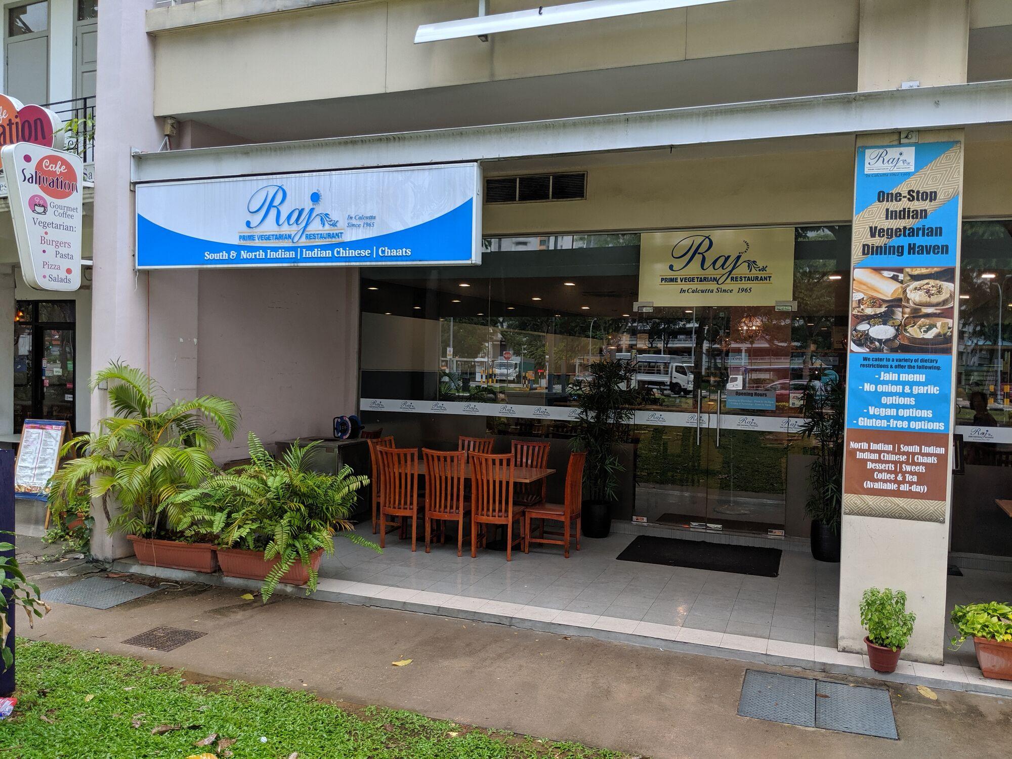 Raj Vegetarian Restaurant, Race Course Road, Singapore