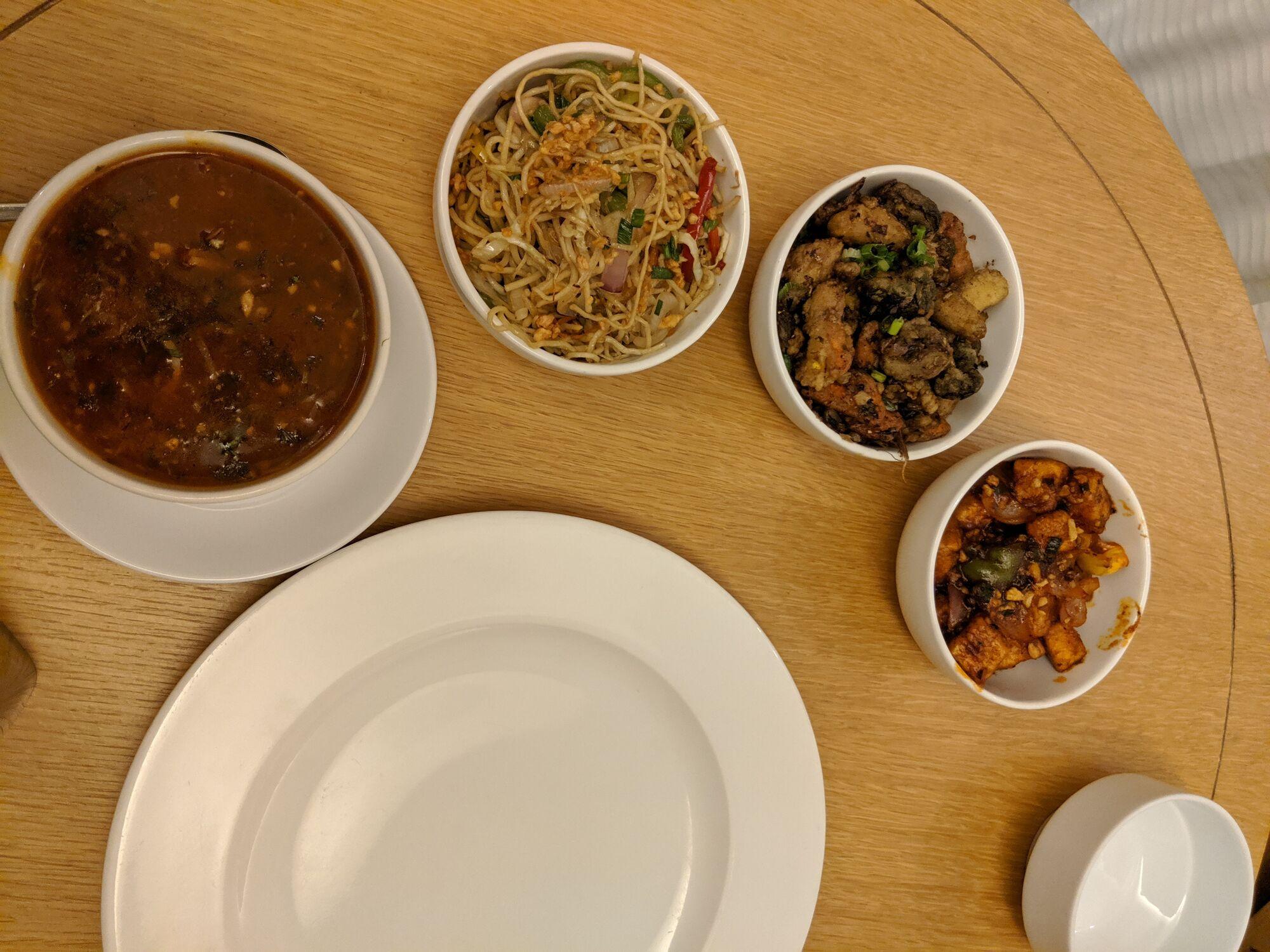 Tibetan Vegetarian Dinner