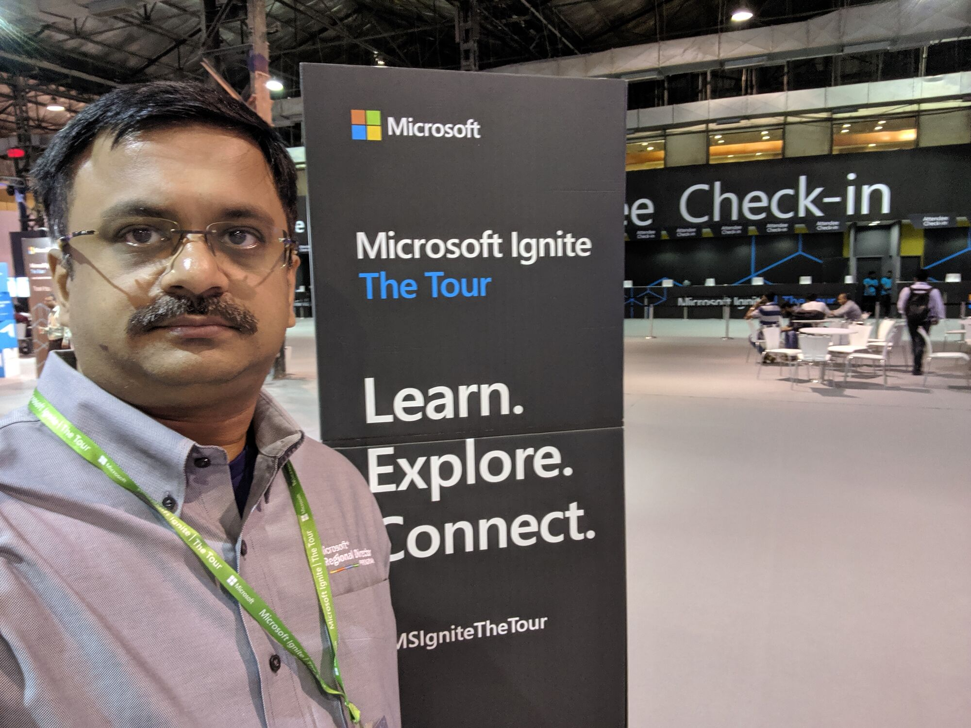 Learn, Explore and Connect that was the theme of the Microsoft Ignite Tour