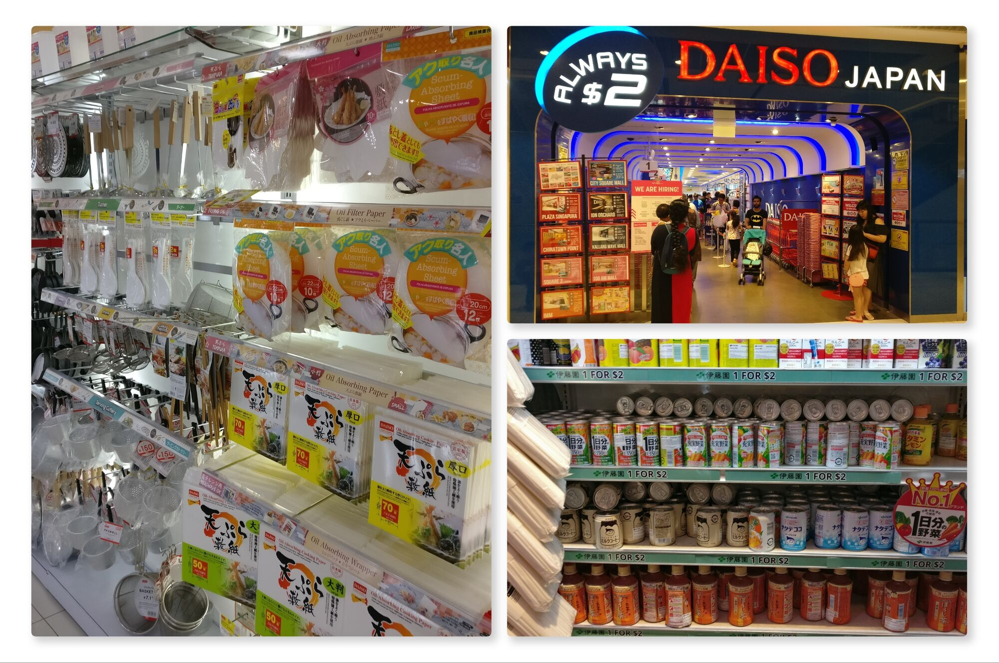 Daiso Japan - The Two Dollar store
