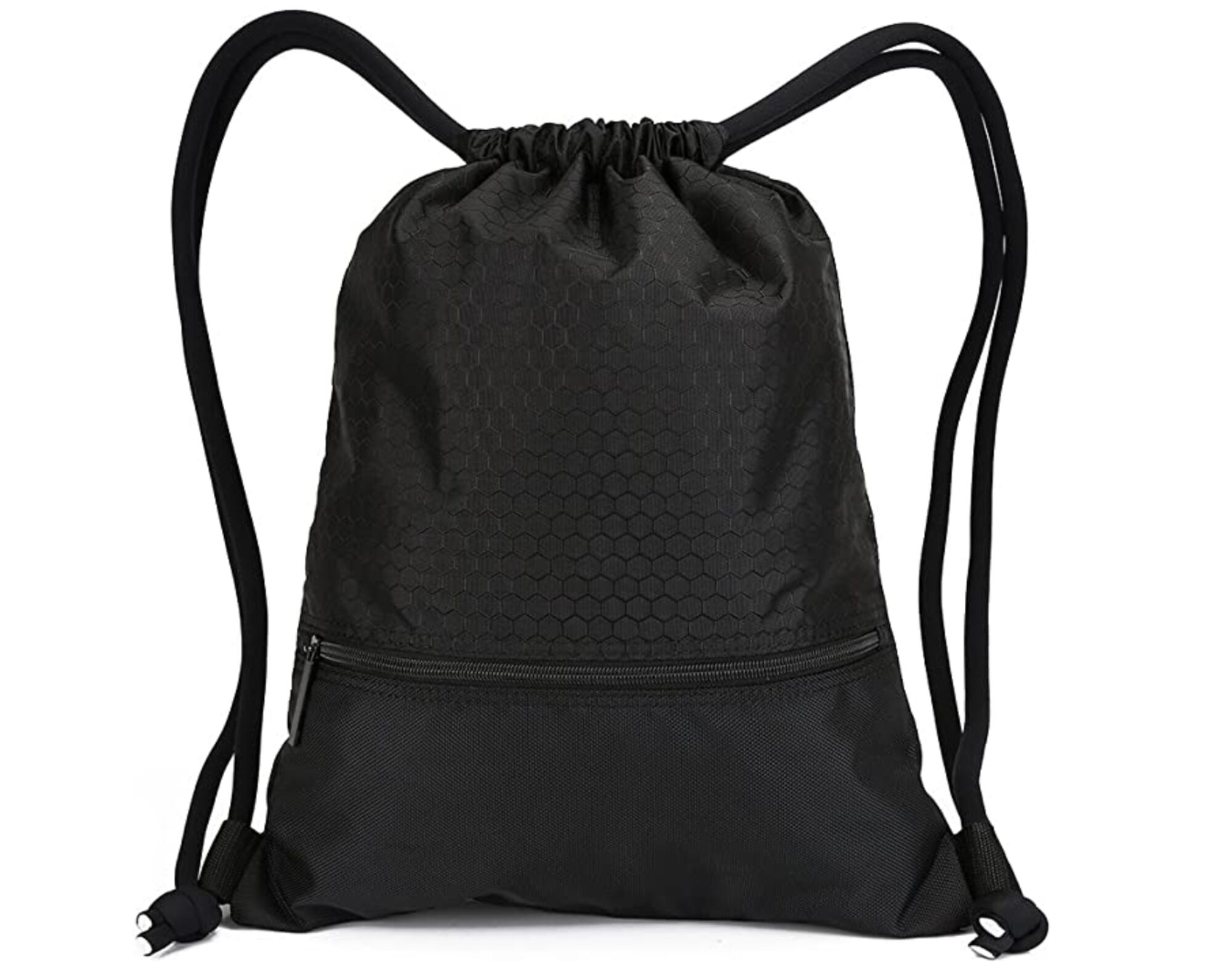 (For representation) A black colour small string bag