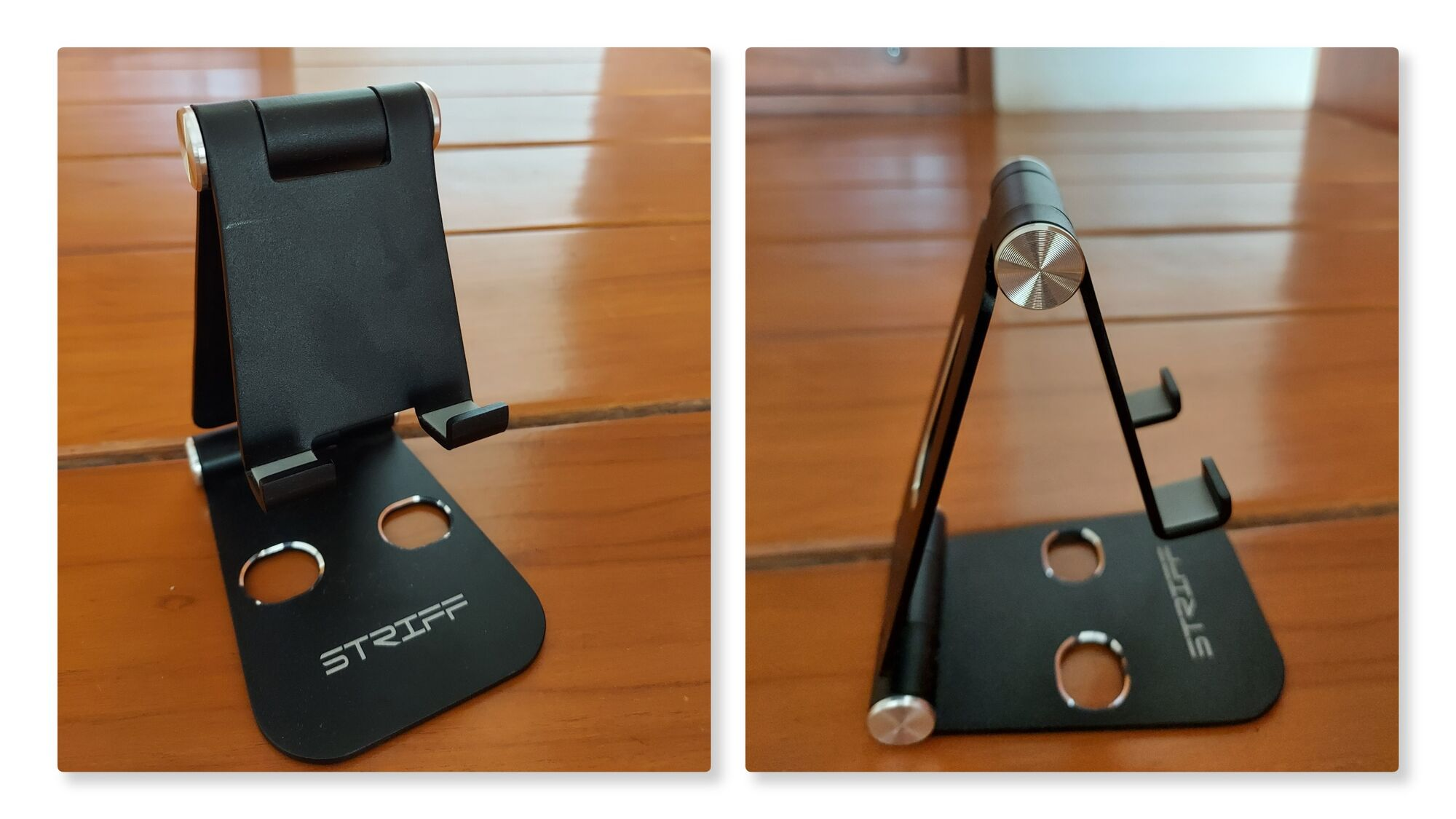 Aluminum Mobile Phone Adjustable Foldable Holder Stand for All Tablet and Smartphones