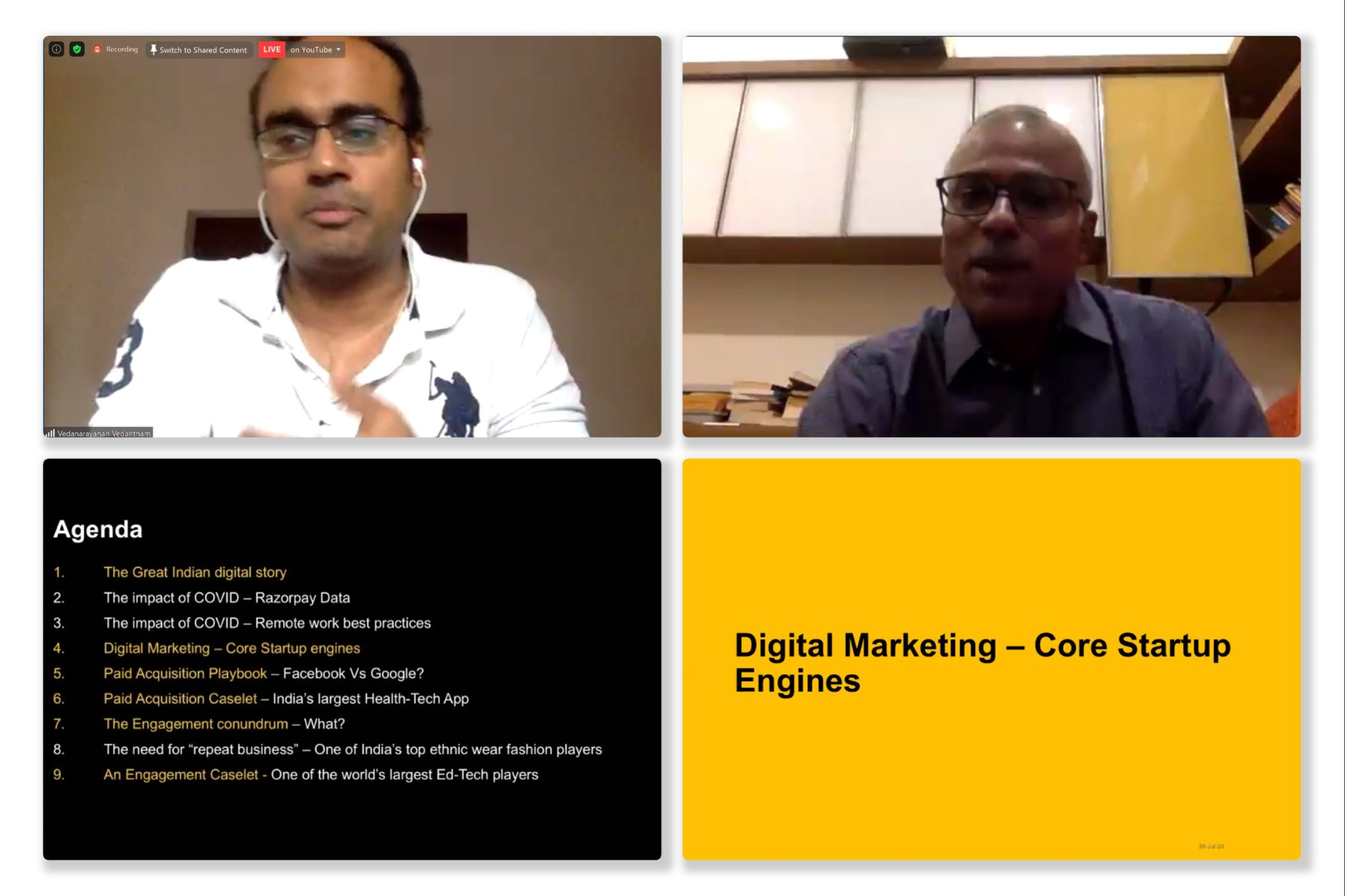 Digital Marketing Playbooks for Early Stage Startups by Vedanarayanan Vedantham