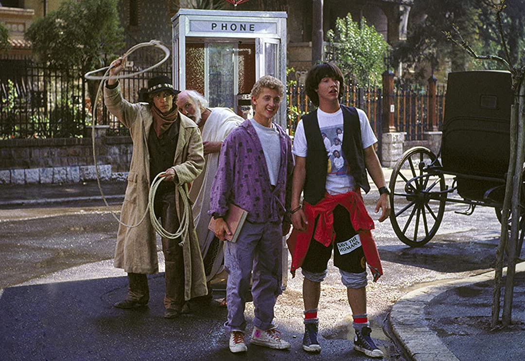 Keanu Reeves as Ted ''Theodore'' Logan and Alex Winter as Bill S. Preston