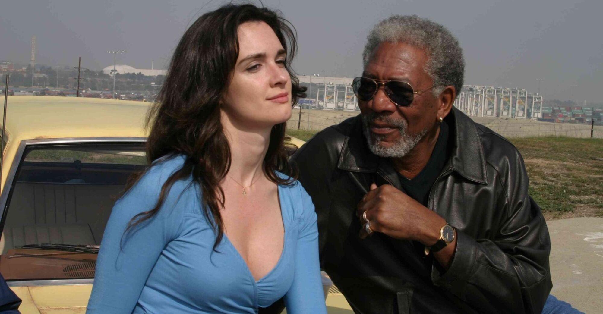 10 items or less (2006): Paz Vega & Morgan Freeman