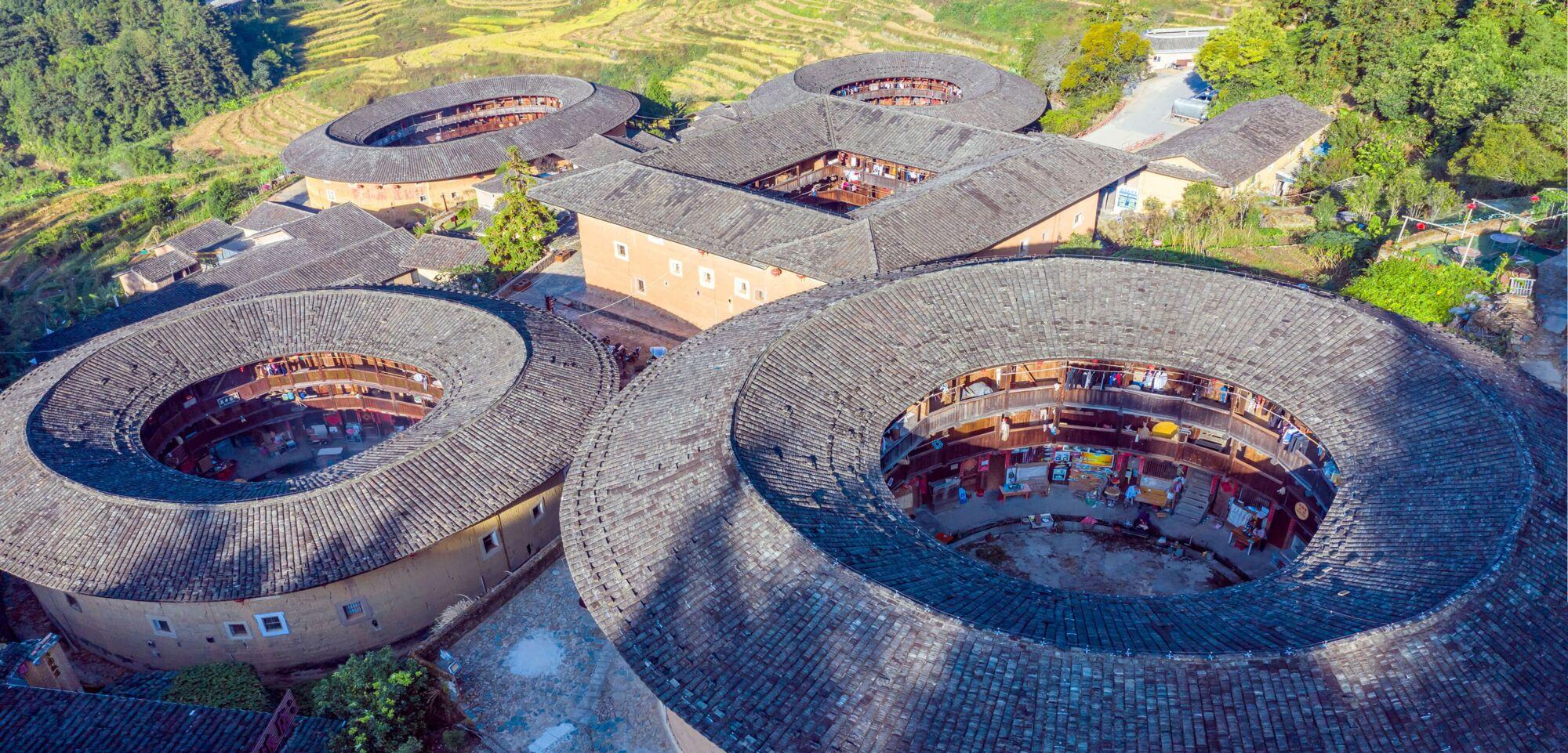 Fujian tulou, China