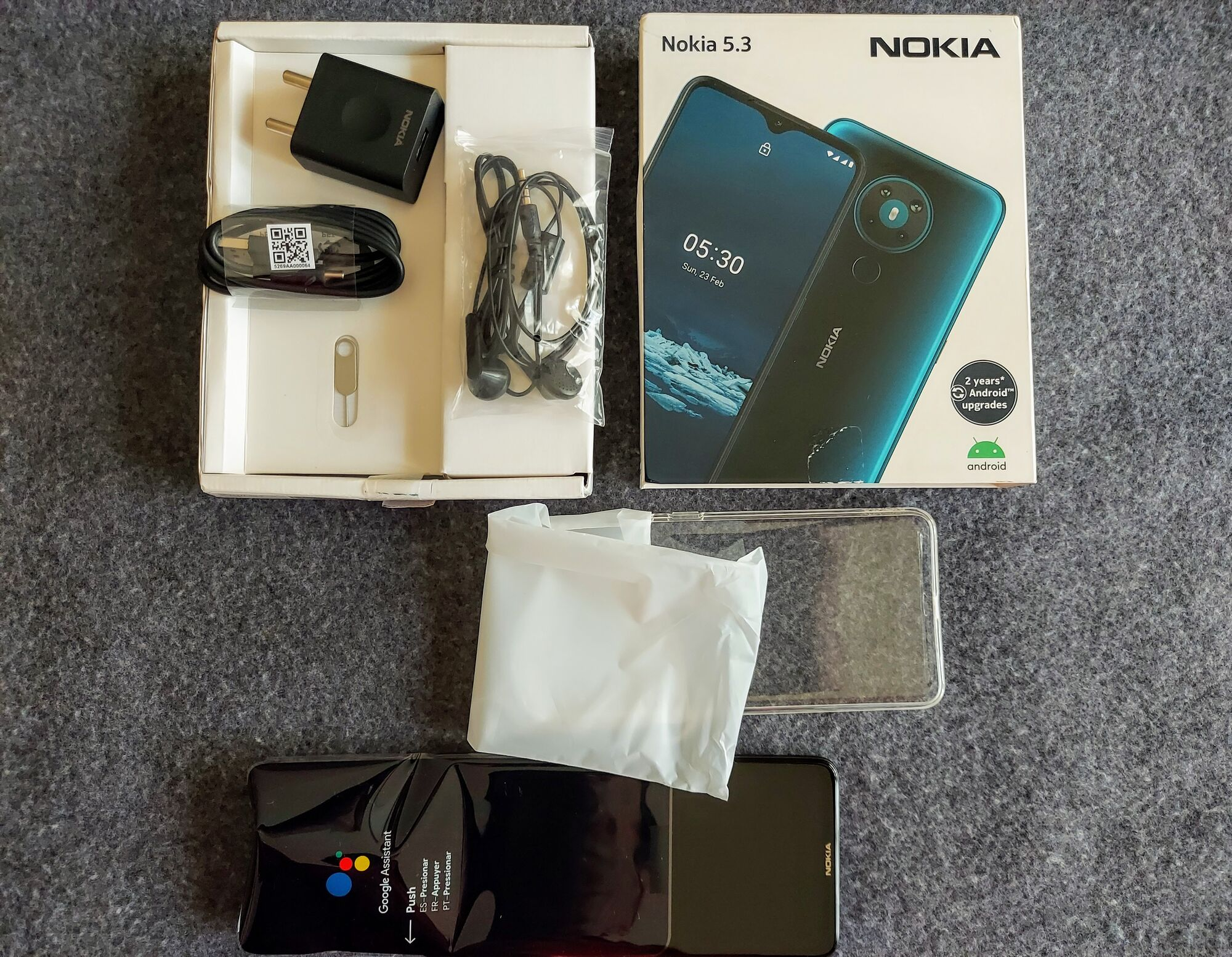 Unboxing of Nokia 5.3