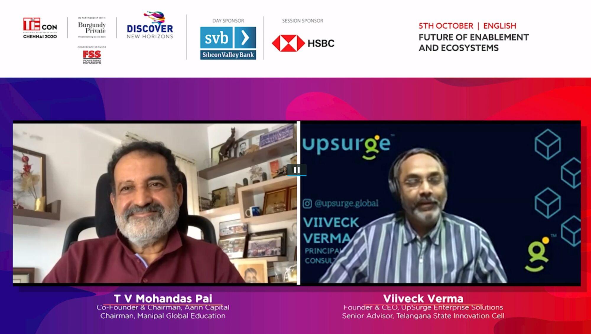 T V Mohandas Pai and Viiveck Verma