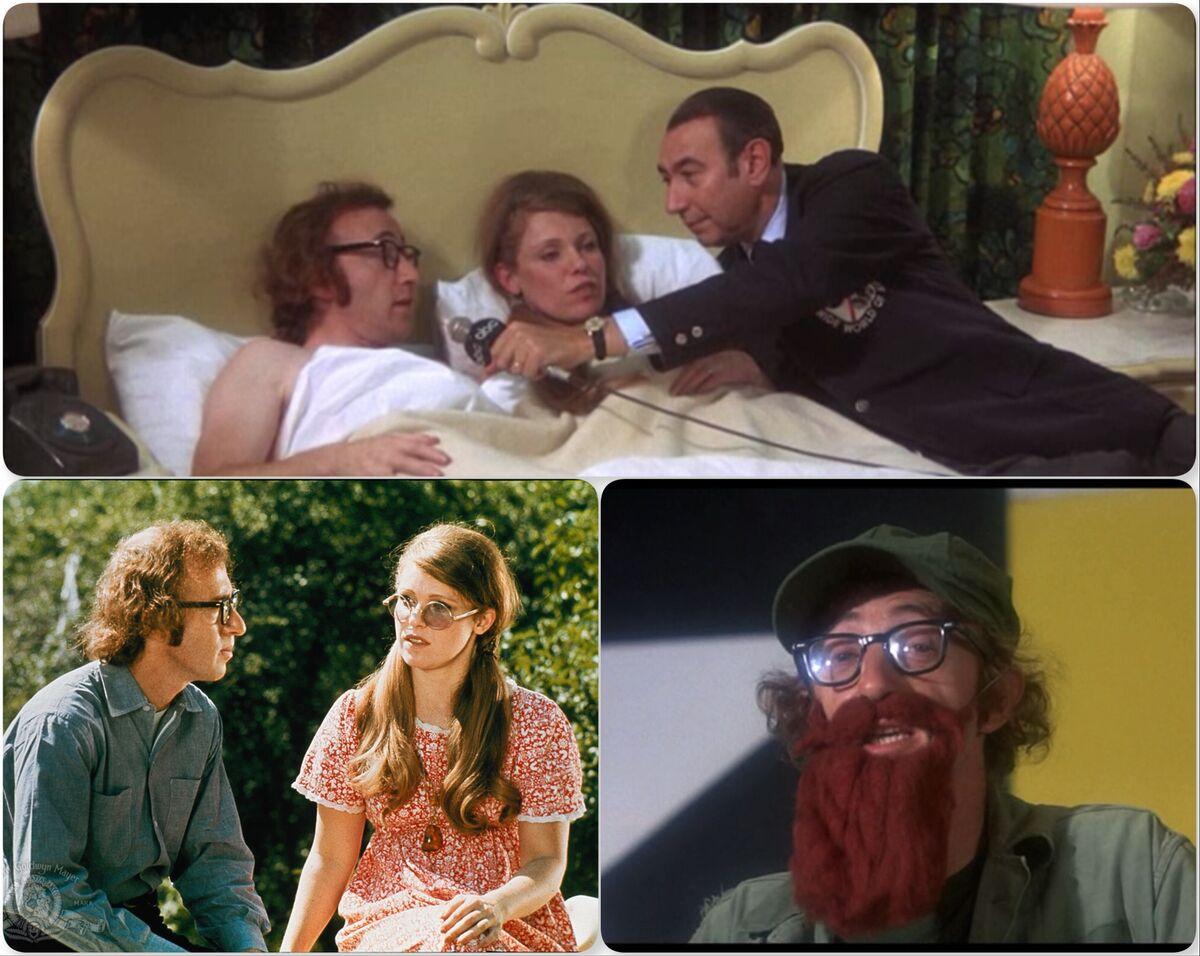 Bananas - Fielding Melish (Woody Allen) and Nancy (Louise Lasser).