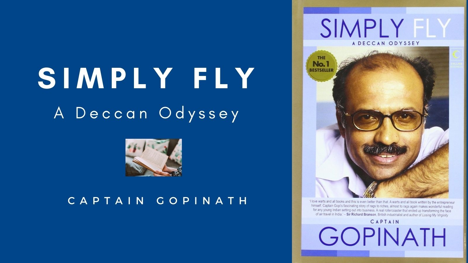 Simply Fly - A Deccan Odyssey by Captain Gopinath
