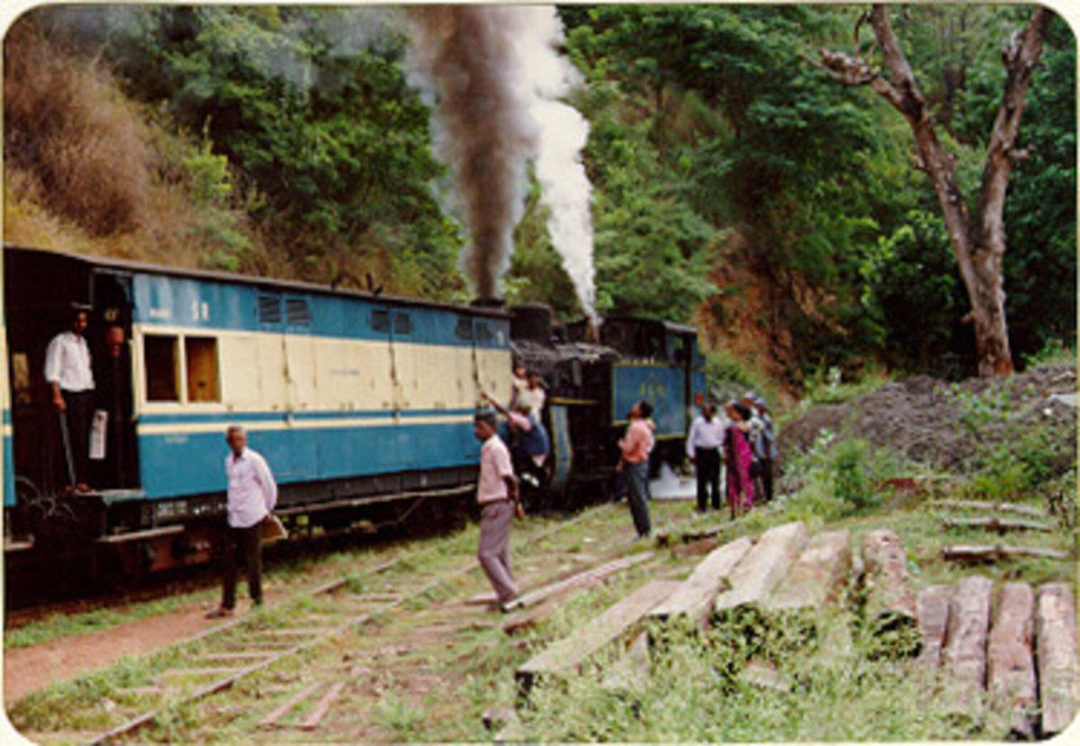 Nilgiri Mountain Railway from Mettupalayam to Ooty in 1995