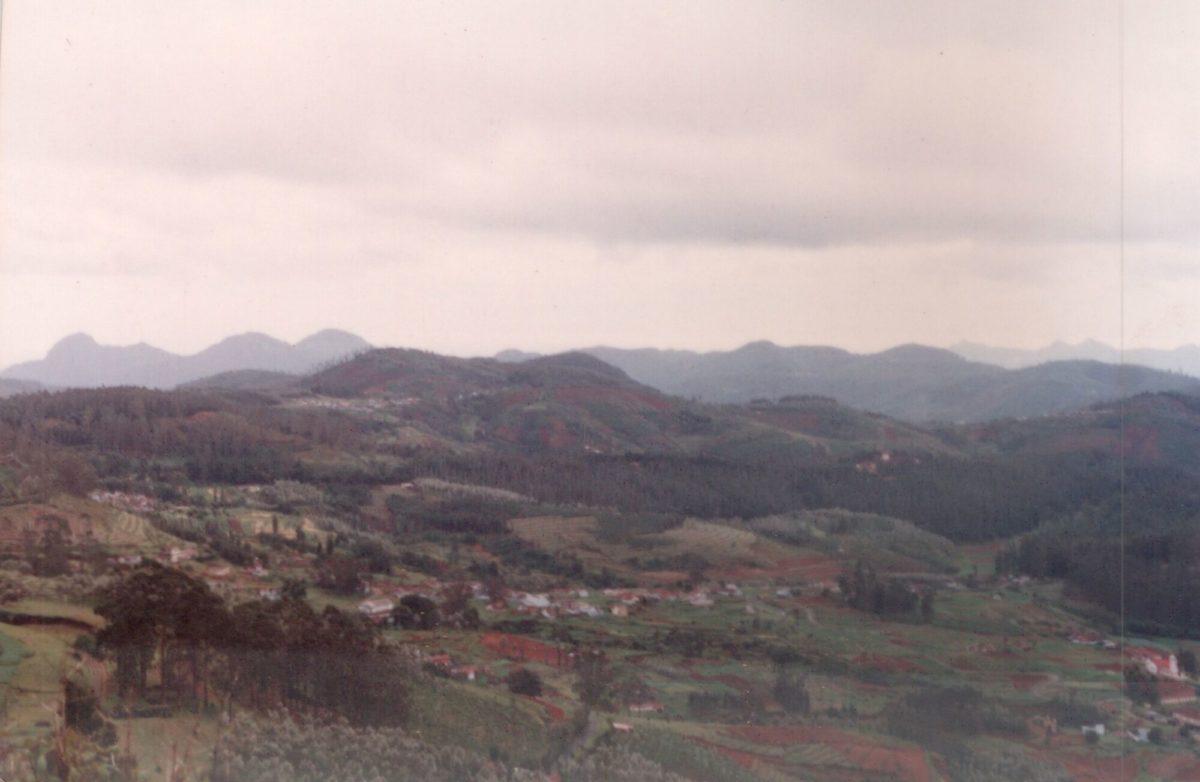 Ooty Hillside in 1995