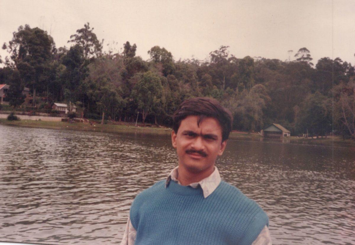 Venkatarangan - Ooty Lake in 1995