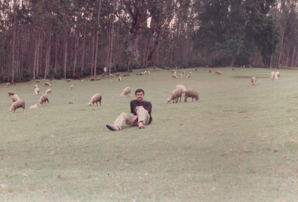 9th Mile Ooty in 1995 - a popular film shooting spot