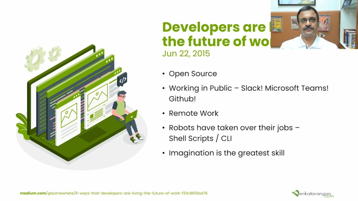 Developers are living the future of workJun 22, 2015