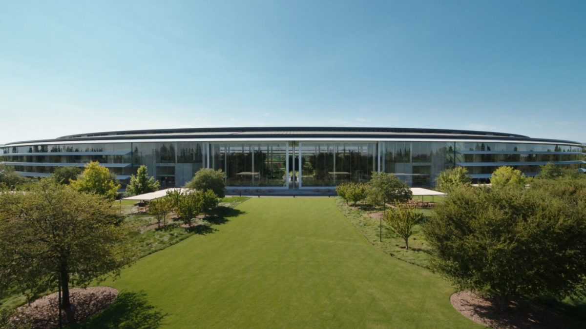 Apple's space ship campus