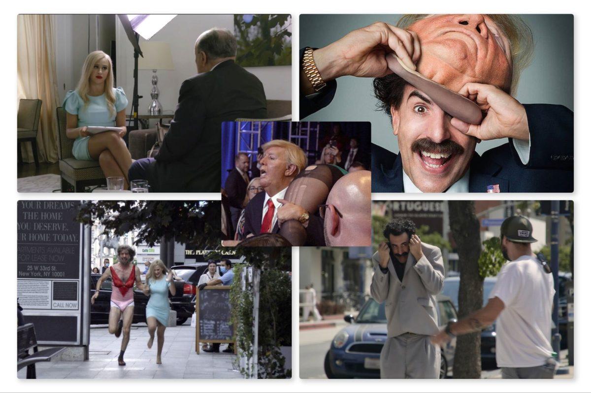 Borat Subsequent Moviefilm - Sacha Baron Cohen and Maria Bakalova
