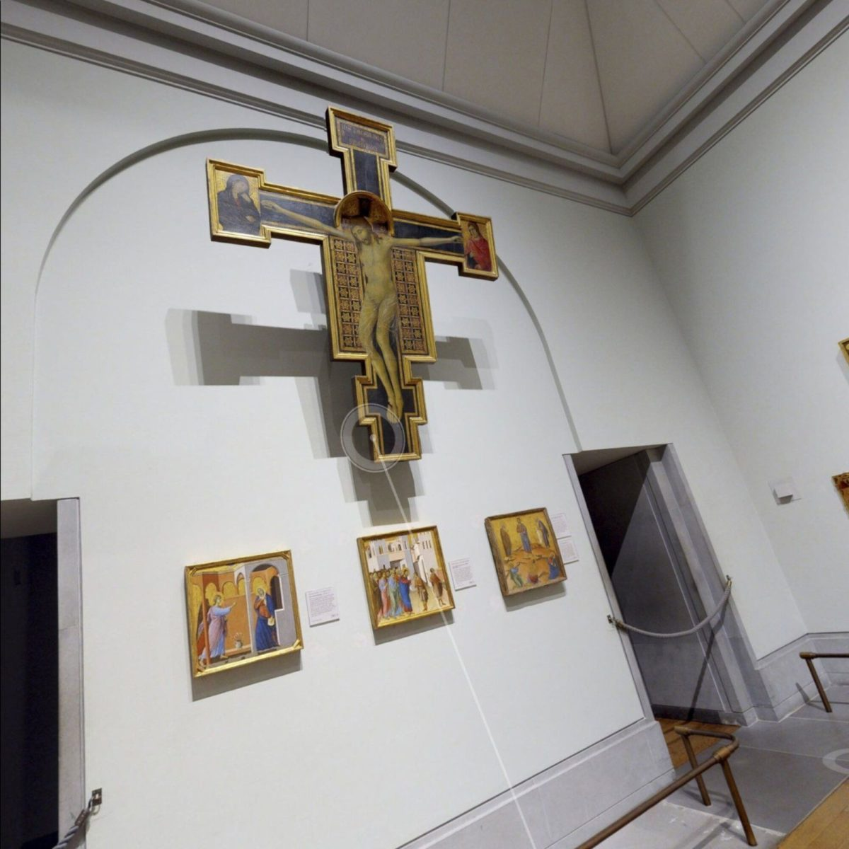 The Sainsbury Wing in National Gallery, UK