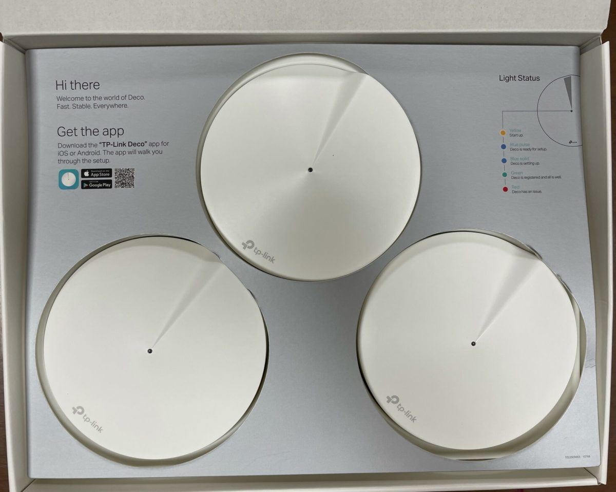 A 3-pack of TP-Link Deco m5 Mesh Network cost INR 12,500 after offers