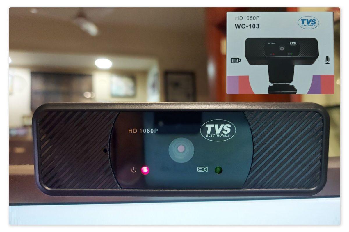 TVS WC 103, 1080p Webcam