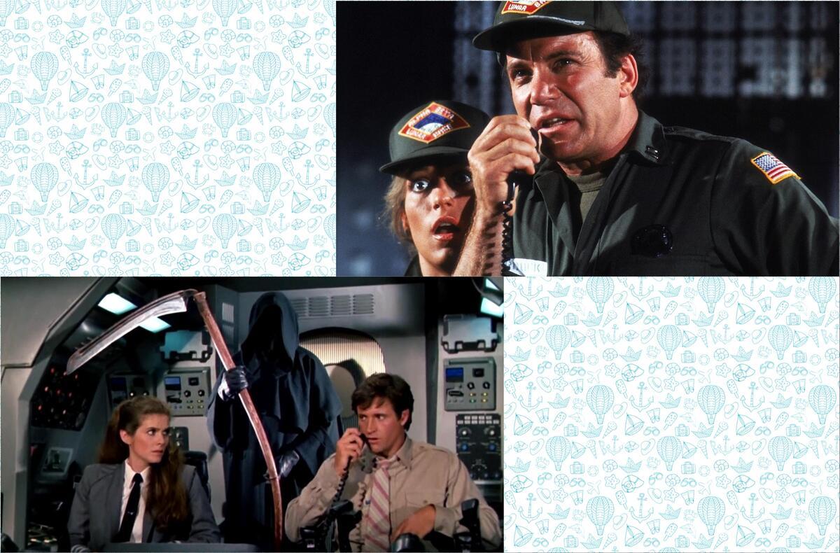 William Shatner as Commander Buck Murdock