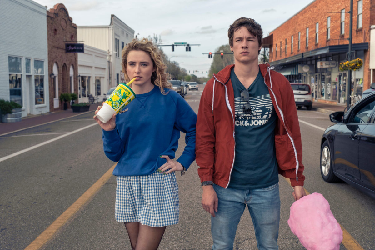 Kathryn Newton as Margaret and Kyle Allen as Mark