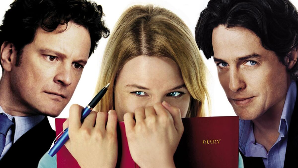 Bridget Jones 2001 - Renée Zellweger, Colin Firth and Hugh Grant
