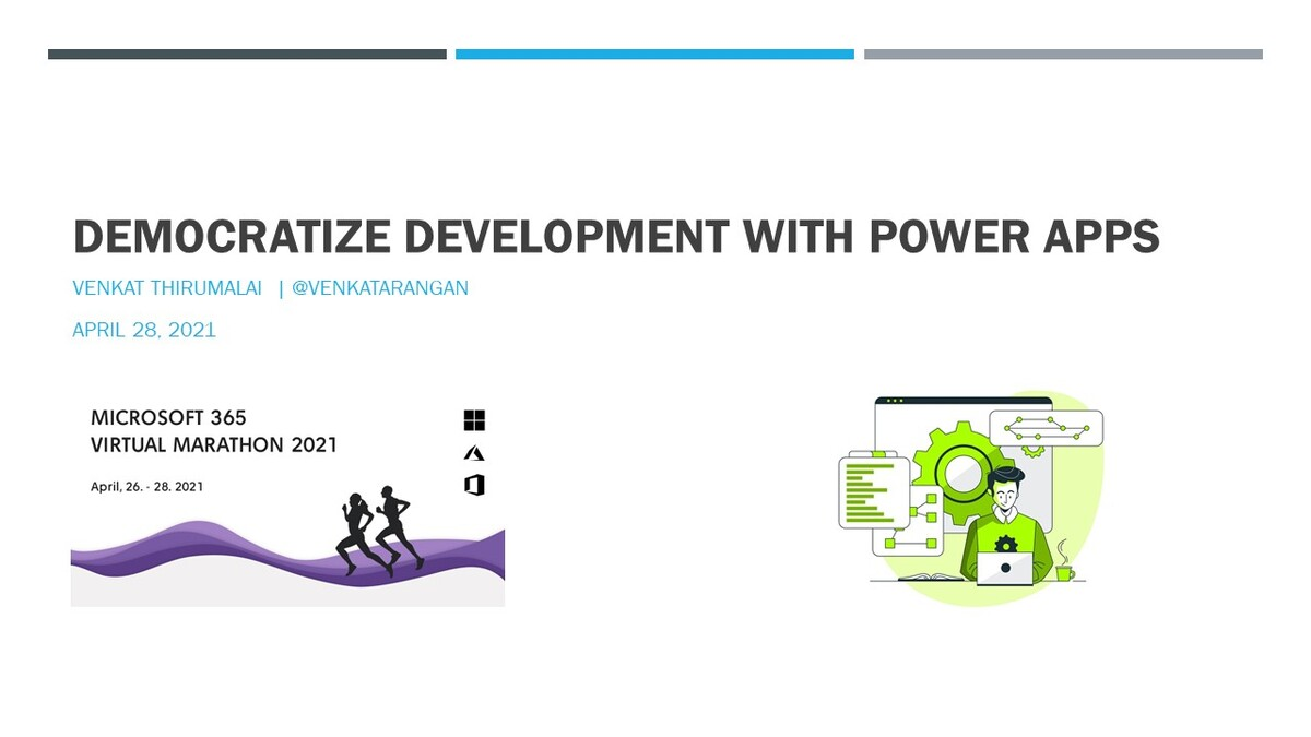Democratize development with Power Apps for Microsoft 365 Virtual Marathon