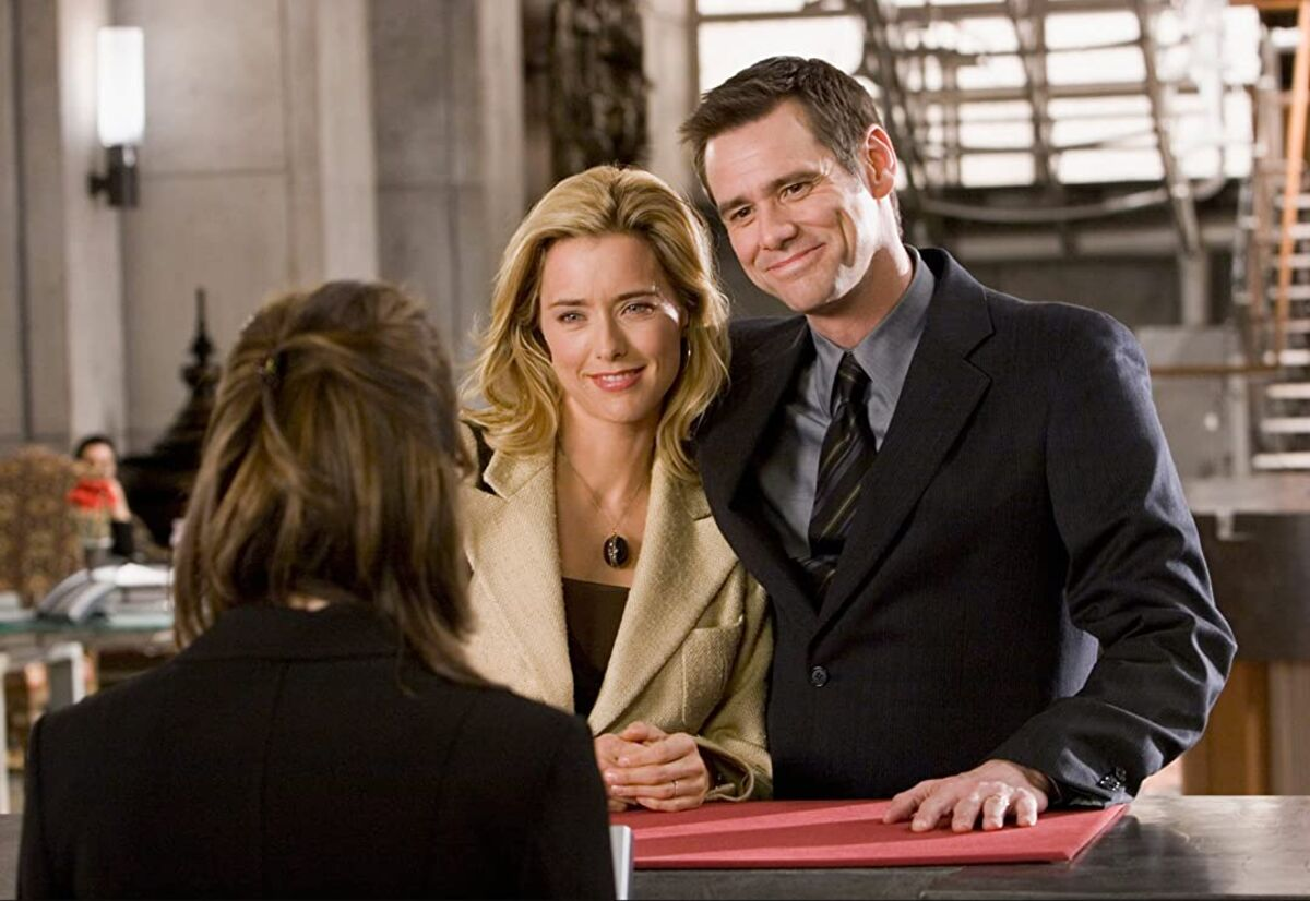 Jim Carrey as Dick Harper and Téa Leoni as Jane Harper