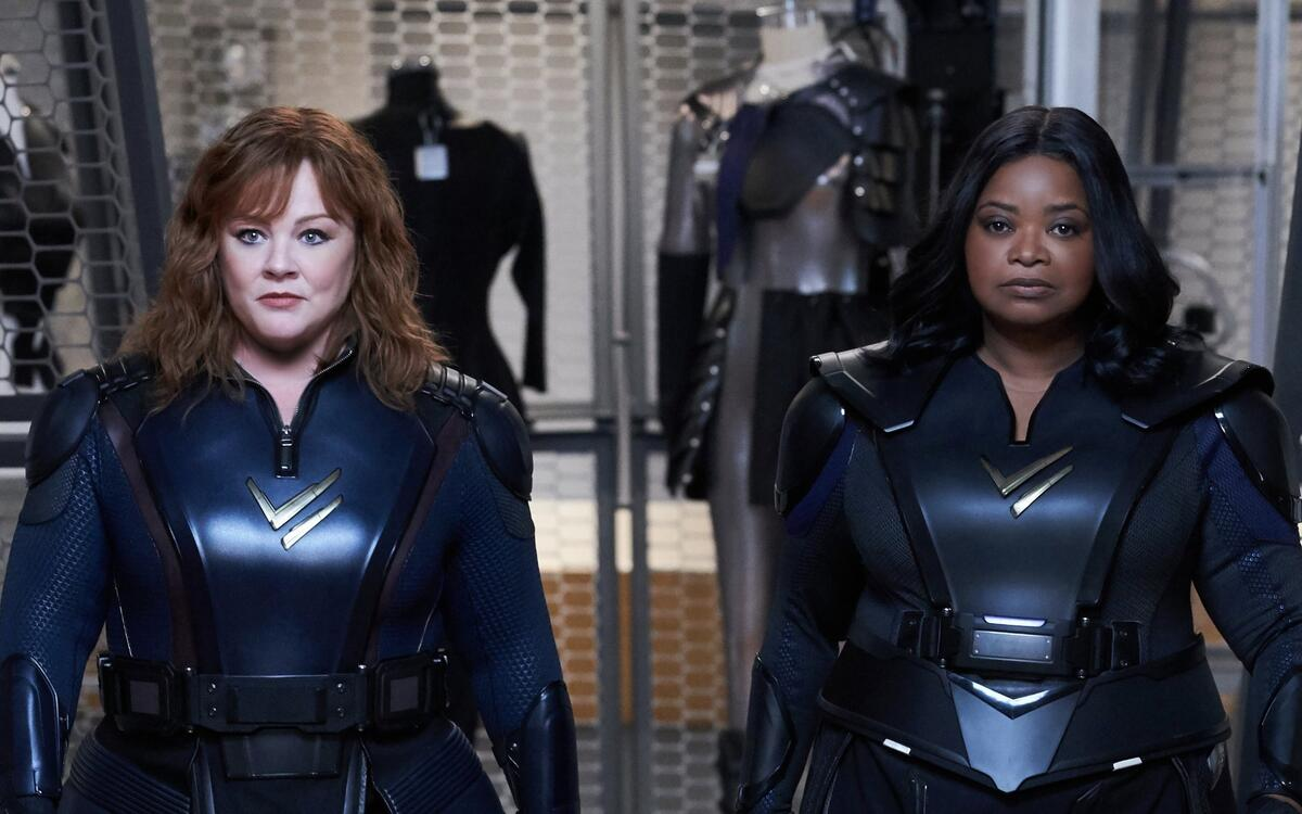 Melissa McCarthy & Octavia Spencer  - Thunder Force