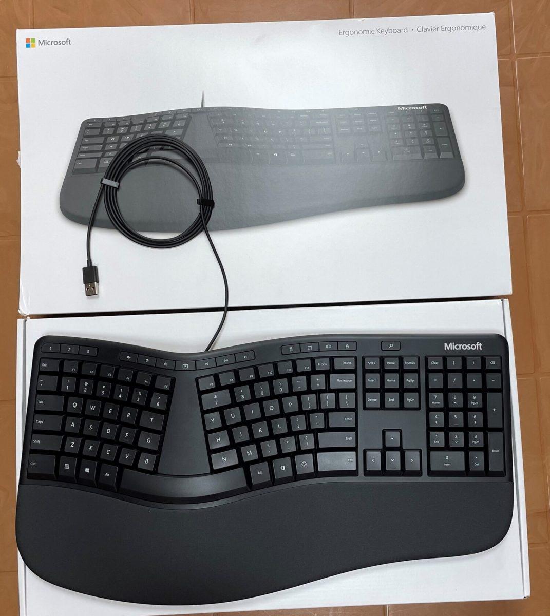 Microsoft Ergonomic Keyboard (2019), LXM-00001