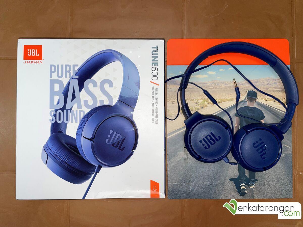 JBL TUNE 500 - Wired on-ear headphones