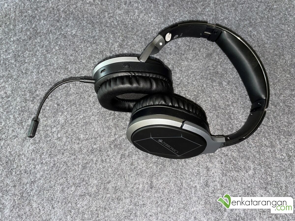 Zeb-Envy is a wireless BT headphone with detachable microphone