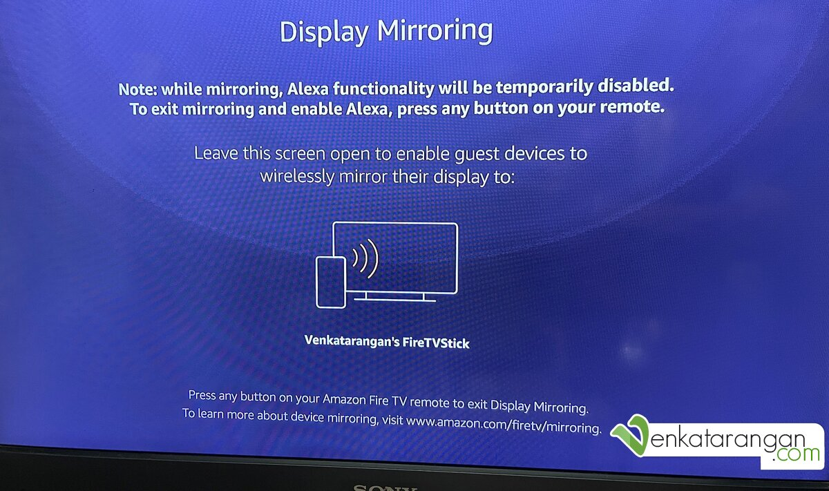 The device supports mirroring (which you need to enable everytime from setup), which means if you have a Samsung and a few other Android phones you can share the entire phone display to your TV
