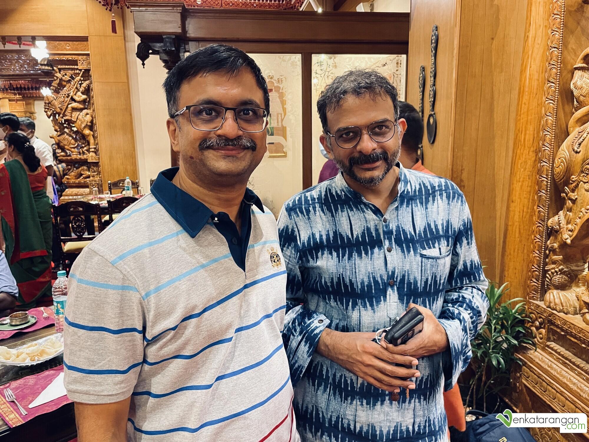 Selfie with Mr T M Krishna