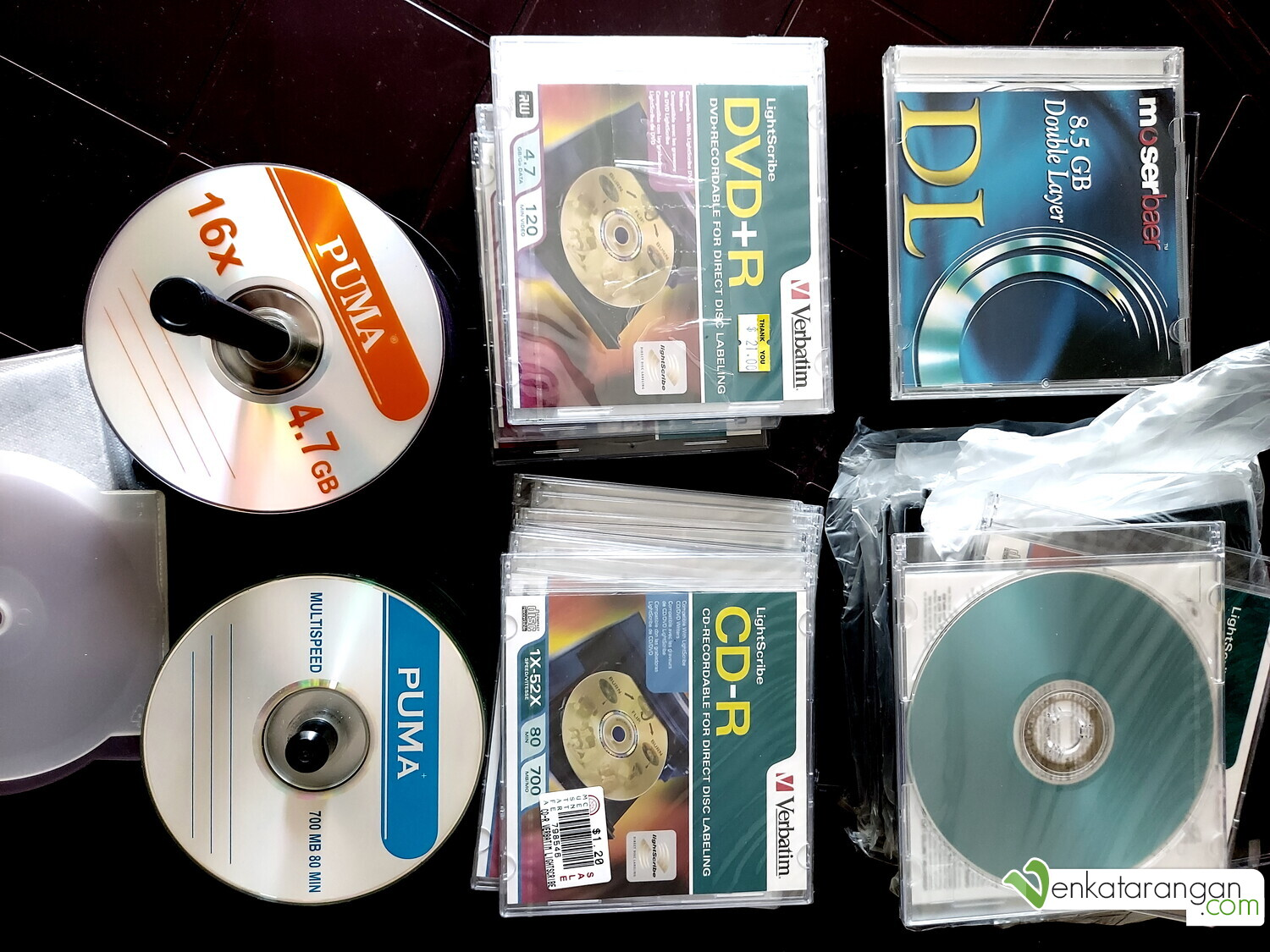 Blank Compact Discs and DVDs - Optical Discs